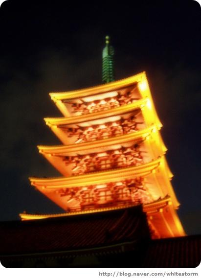 센조지의 오층탑