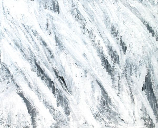 Abstract White Storm